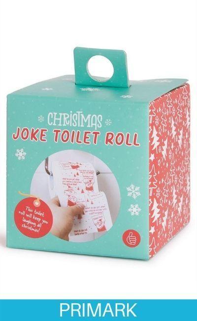 Rollo de papel higiénico humorístico Primark