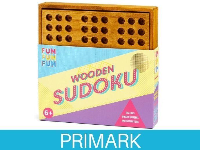 Sudoku de madera Primark