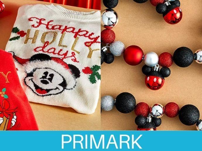Una mágica Navidad Disney Primark