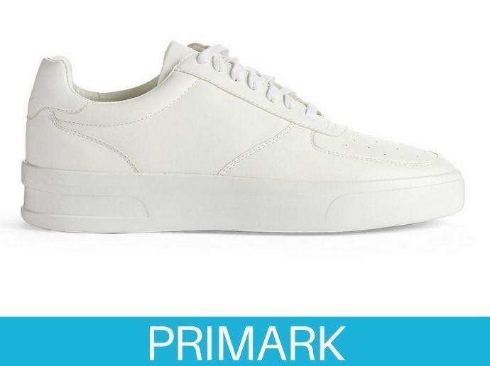 Zapatillas bajas blancas informales Primark