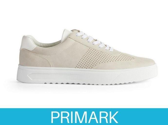Zapatillas bajas informales color piedra Primark
